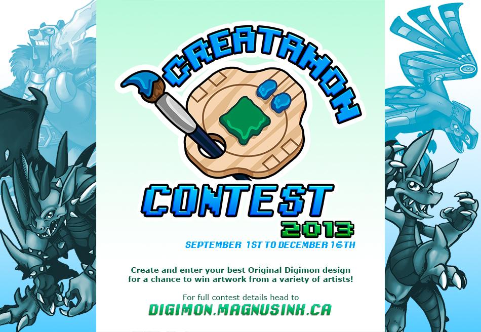The Creatamon Contest 2013 by weremagnus