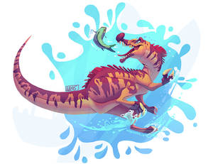 Baryonyx for The Stomping Grounds