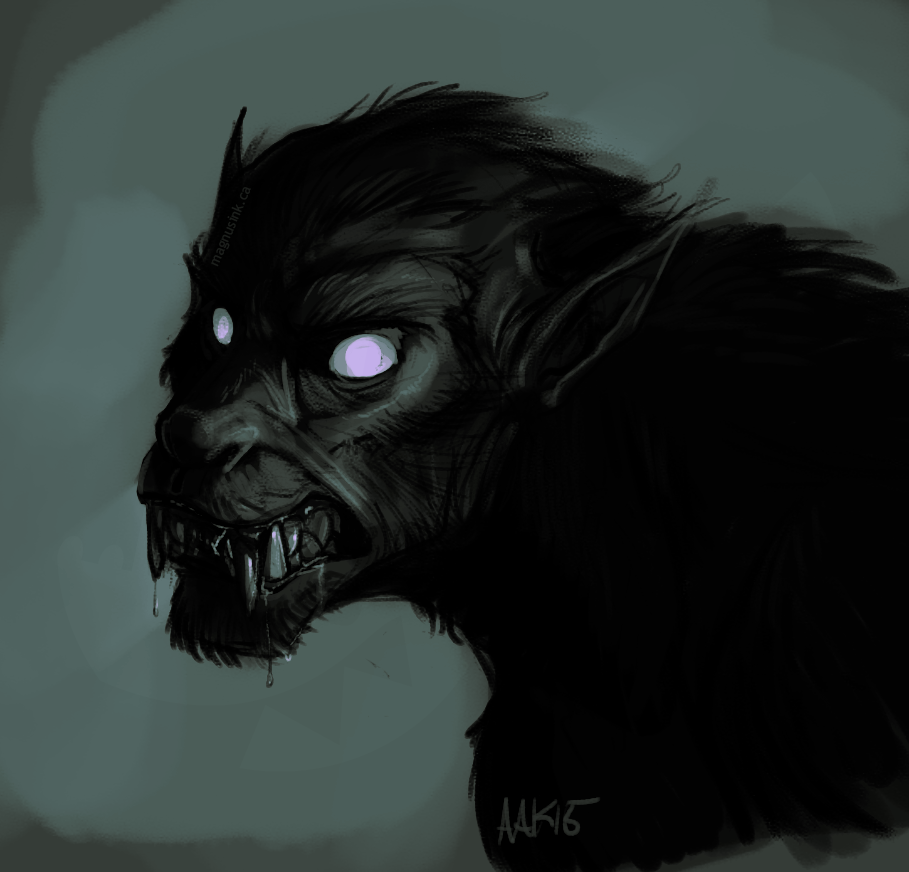 Scary Stories The Black Dog
