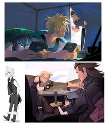 Final Fantasy XV by weremagnus