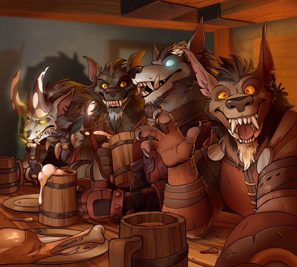 The Brothers Moon Tavern Selfie by weremagnus