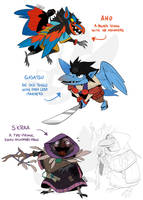 Who are all these birds? by weremagnus