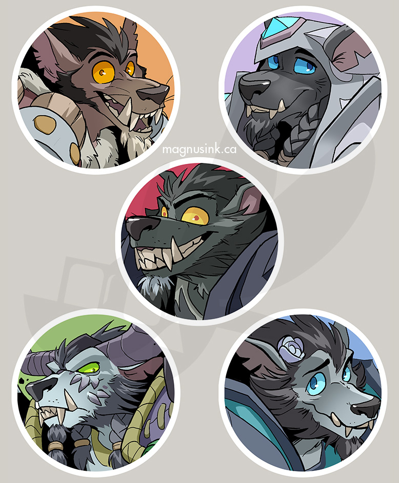 The Brothers Moon Icons by weremagnus