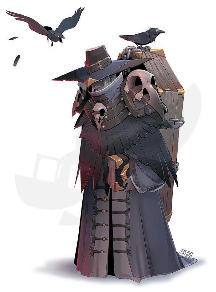All Hail the Raven Queen by weremagnus