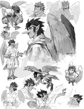Gasatsu Sketchpage