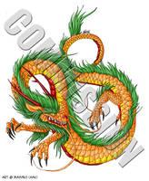 Commission - ADBRF Dragon 2 by weremagnus