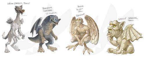 Gargoyle characters