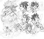 Gasatsu sketches 2021 by weremagnus