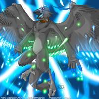 Digimon Winners: Karasumon by weremagnus