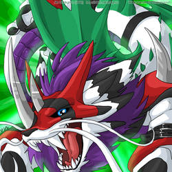 Digimon Winners: Warkobamon by weremagnus