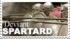 Spartard Stamp by weremagnus