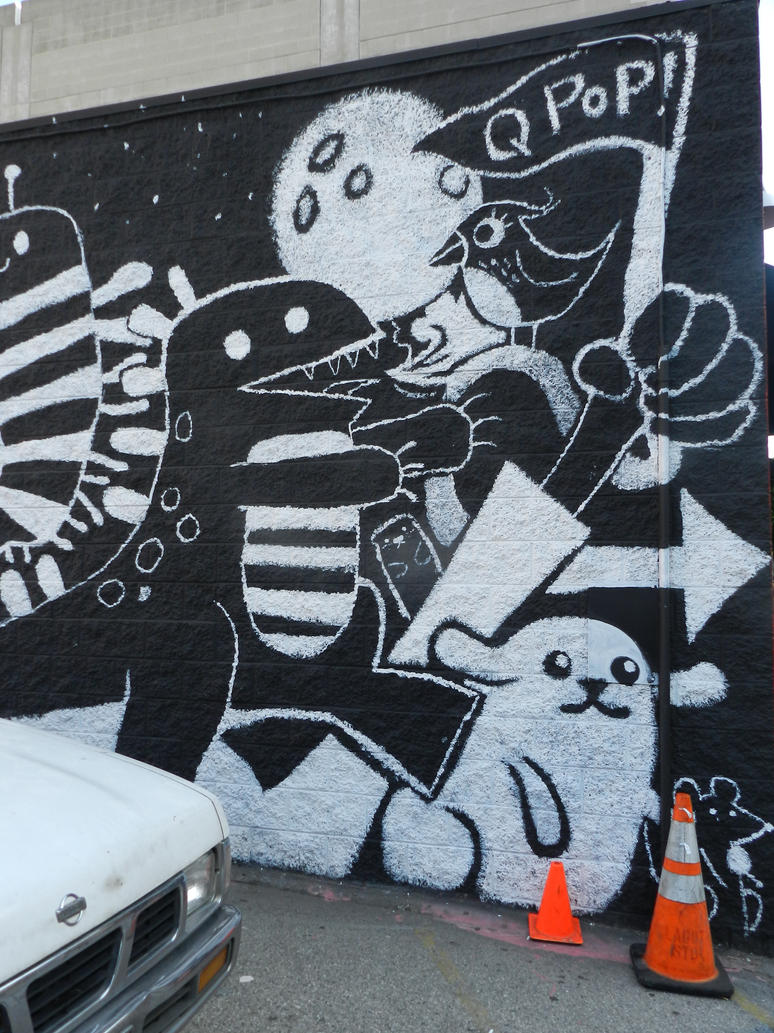 Black and white mural by waitingformilo on deviantart for Black and white mural
