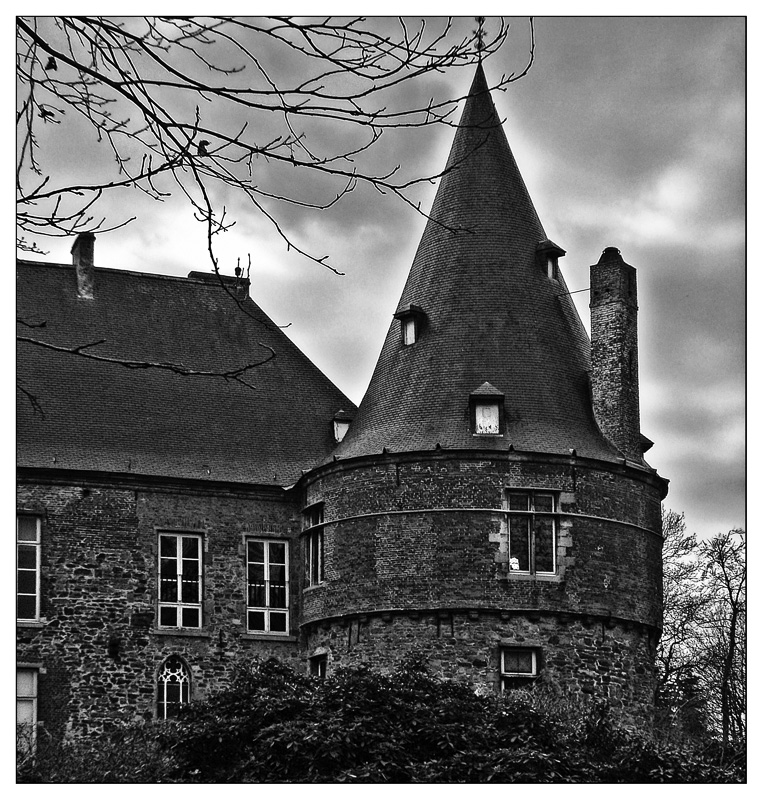 Castle of Braine-Le-Chateau by rhipster