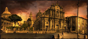 The Cathedral of Catania III by rhipster