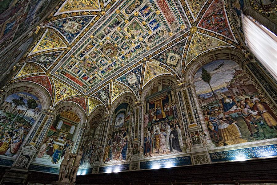 piccolomini library ile ilgili görsel sonucu