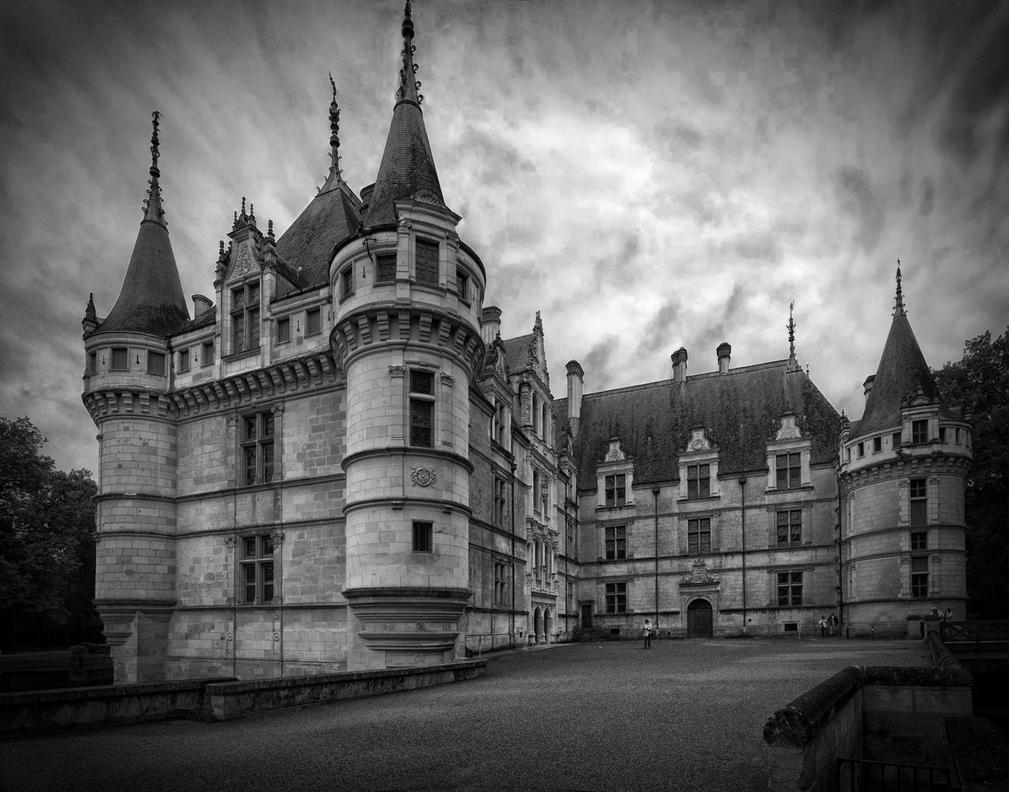 Chateau d 39 azay le rideau by rhipster on deviantart - Visite chateau azay le rideau ...