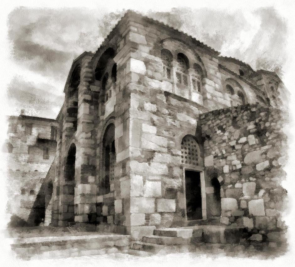 Osios Loukas by rhipster