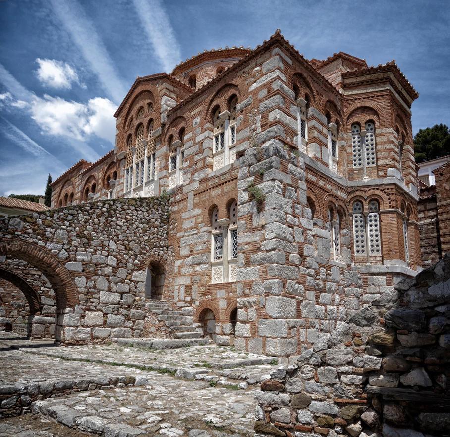 Osios Loukas monastery by rhipster