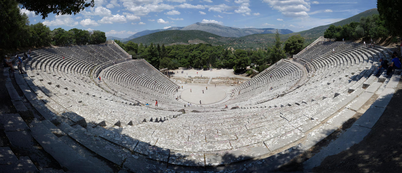 Theatre of Epidaurus by rhipster