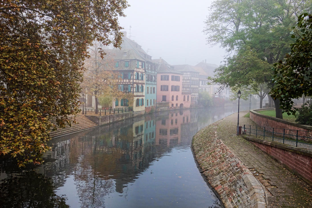 misty morning in... by rhipster