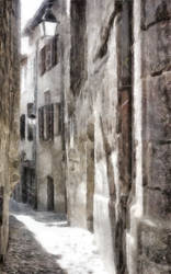 Medieval street by rhipster