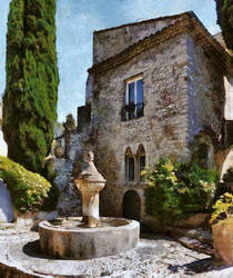 Sunny Mediterranean mansion... by rhipster