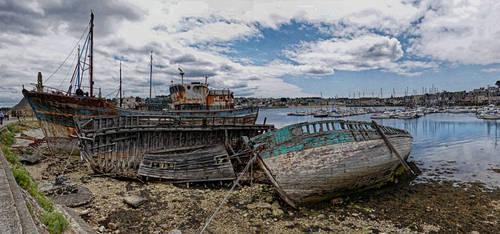 Dans le port de Camaret... by rhipster
