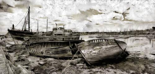 Dans le port de Camaret by rhipster