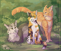Siblings by SsilverBeeze