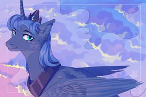 Princess Luna by SsilverBeeze