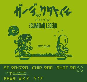 The Guardian Legend by godsavant
