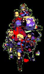 Police Team Kazuo by godsavant