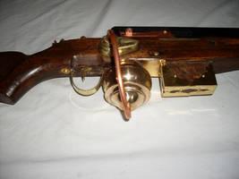 Steampunk rifle detail #2 by Rubaiyat-of-Steam
