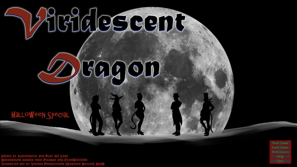 Viridescent Dragon: Halloween Special (Free KN)