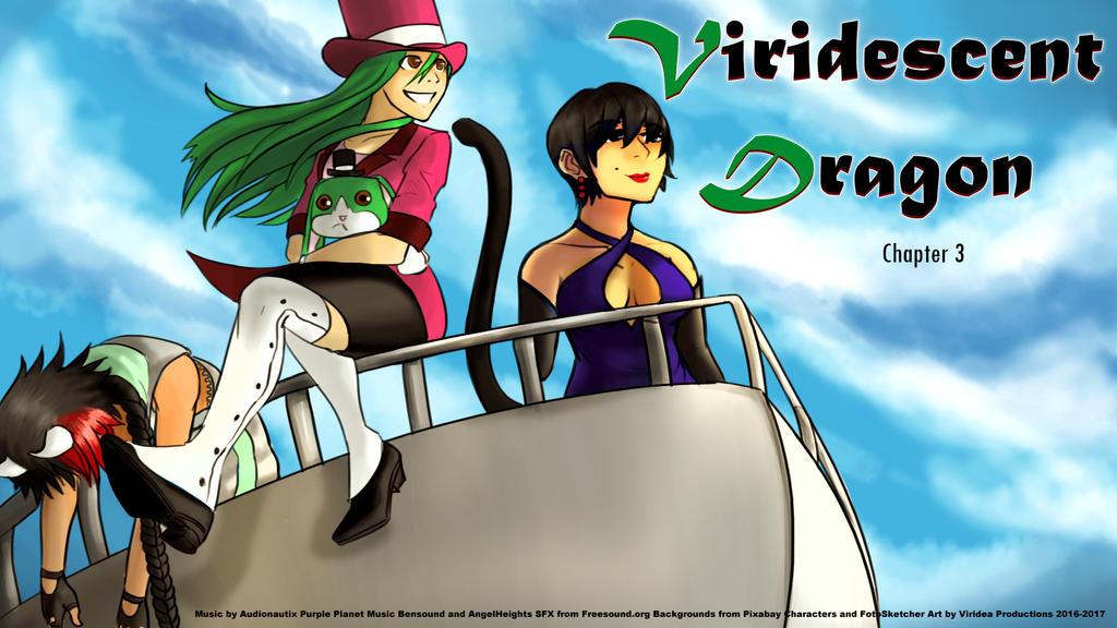 Viridescent Dragon: Chapter 3 (Free Kinetic Novel) by Viridea