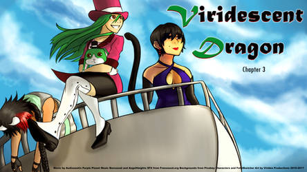 Viridescent Dragon: Chapter 3 (Free Kinetic Novel)