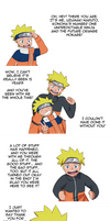 Thank you Naruto and Goodbye! by MintAnnComics