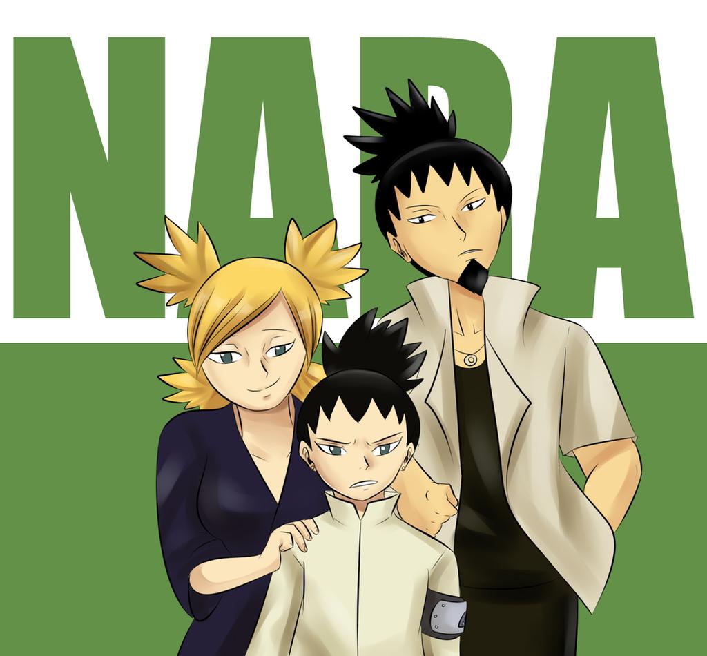 Nara Clan on Shikamaru-FC - DeviantArt