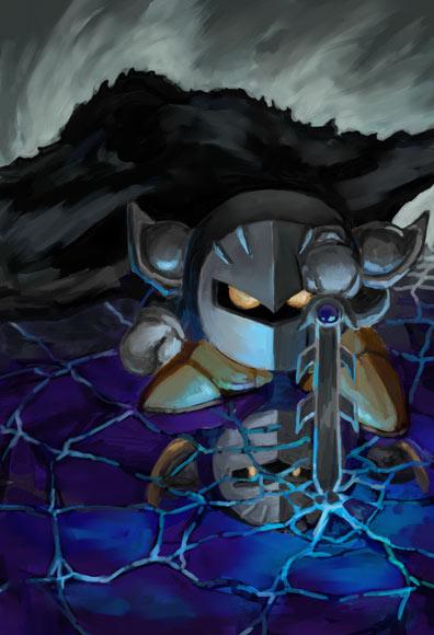 Dark Meta Knight Shadow Strikes Into Death Battle! by TheScourgeKirb