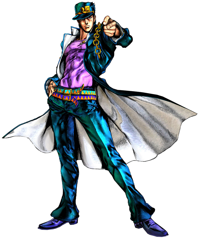 Fight For All Fiction Jotaro Kujo By Thescourgekirb On Deviantart
