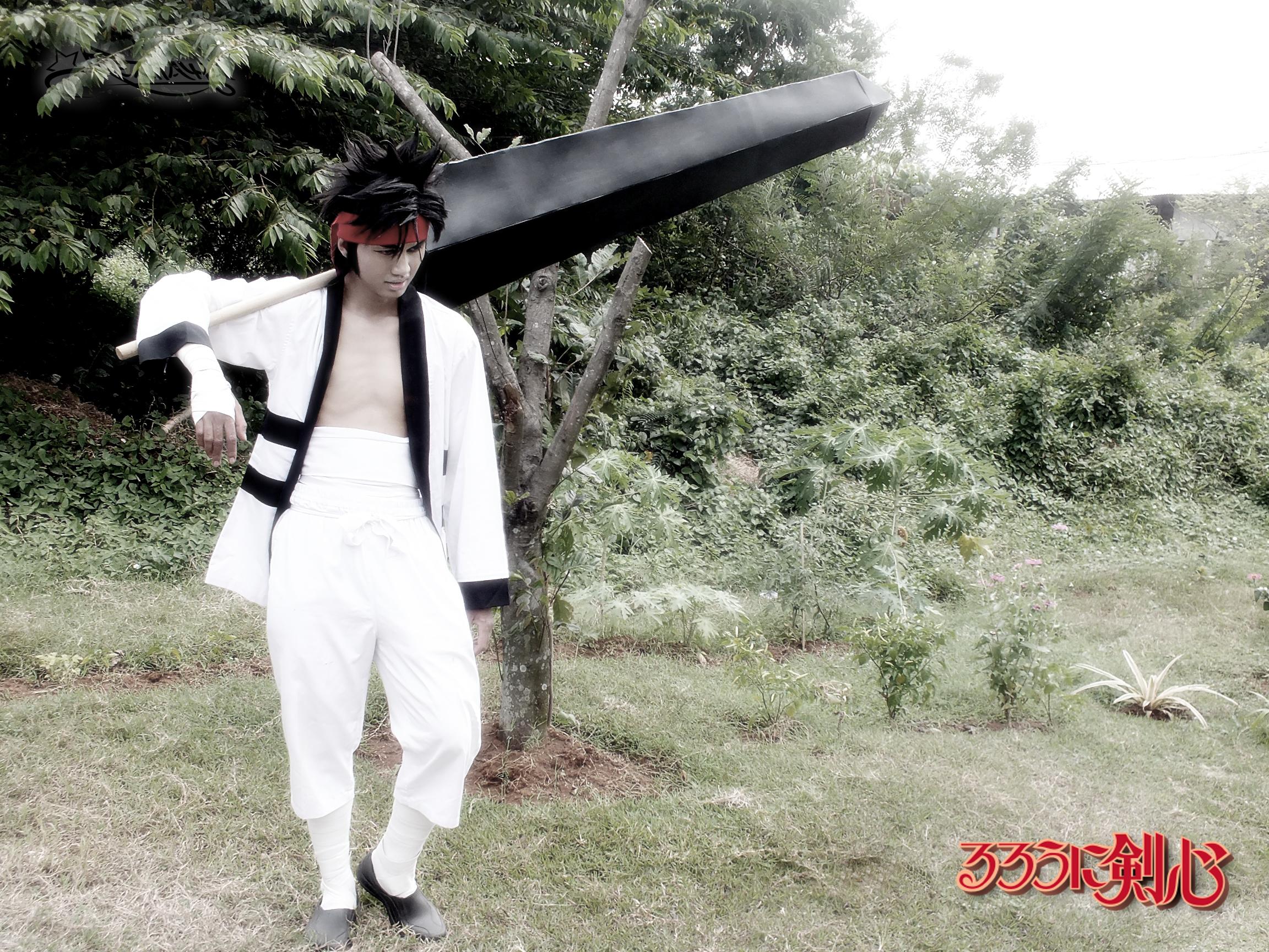 sanosuke sagara cosplay by rezhawa on deviantart