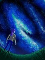 Stargazing by HintofDarkness