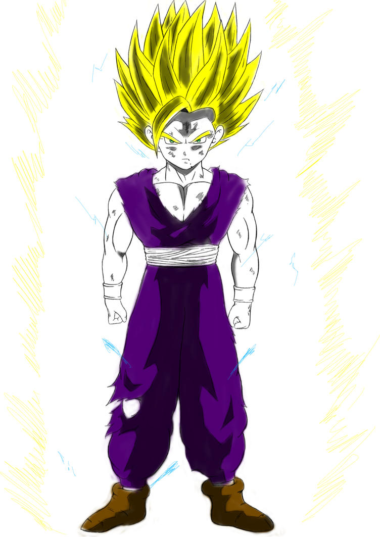 Dragon Ball Z: Gohan Super Saiyan 2 by mooiboy09 on DeviantArt