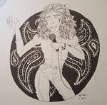 Robert Plant: The Black and White Series by enbyelf
