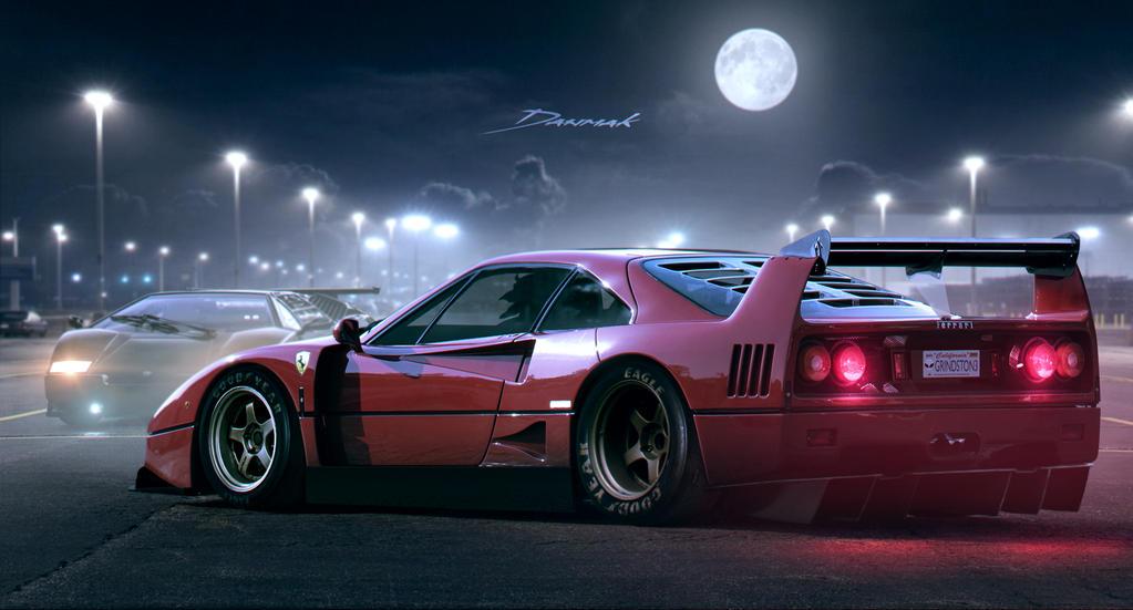 Ferrari F40 By Danmak On Deviantart