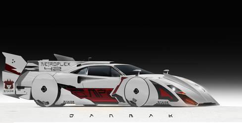 Aero X - Ferrari F40 by DanMak