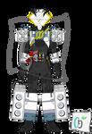 Kamen Rider Build CoolerCooler Form