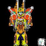 Kamen Rider Void Gaim Kachidoki Armor