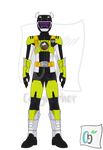 Beast Morpher Black Ranger Beast-X Earth Mode