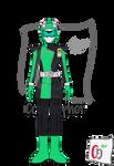 Frog Buster / Beast Morphers Green by Coeghepher
